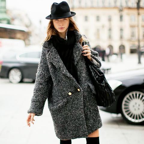 Street Style Furry Coat