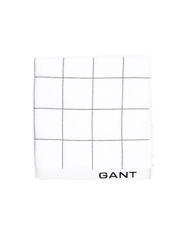 Gant Duo Window Check Towel