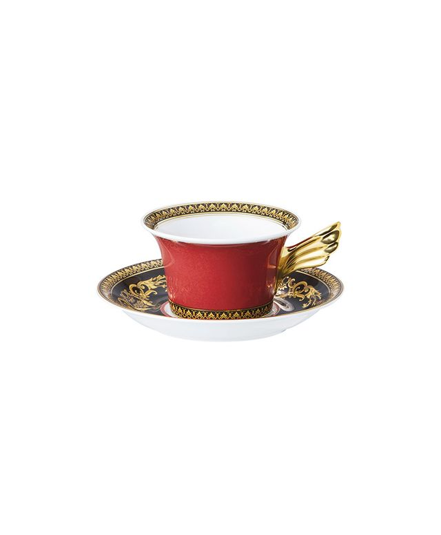 Versace Medusa Tea Cup & Saucer