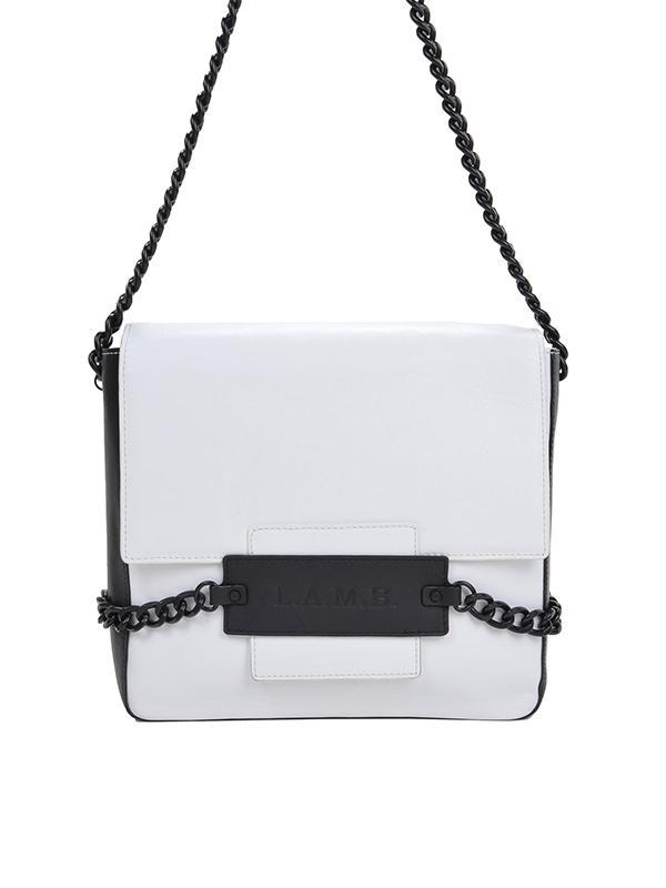 L.A.M.B. Freda Leather Shoulder Bag