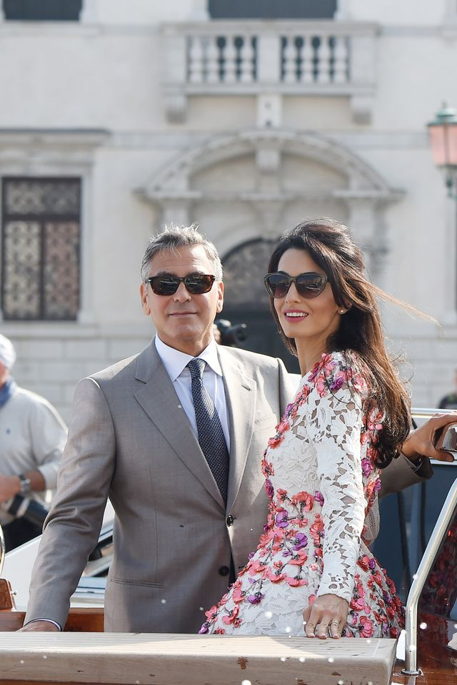 Of Course: Amal Alamuddin and George Clooney Had a Second Wedding