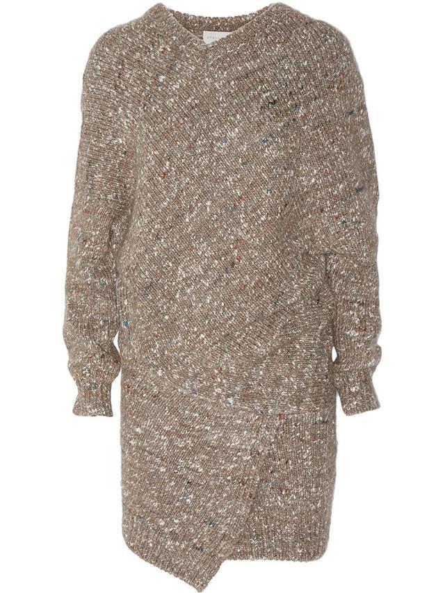 Stella McCartney Chunky-Knit Wool-Blend Sweater Dress
