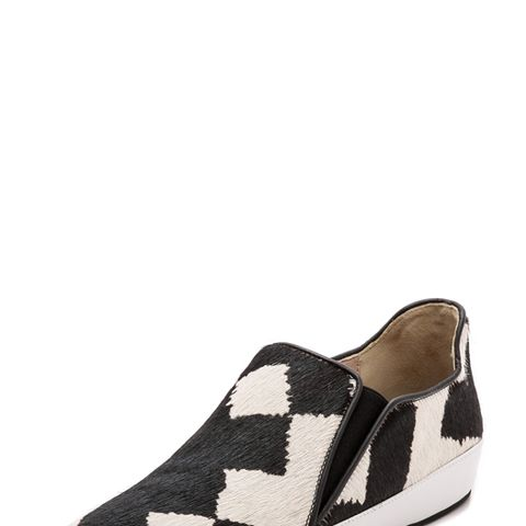 Jared Slip On Haircalf Sneakers