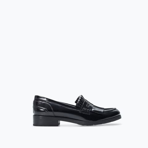 Fringed Penny Loafers