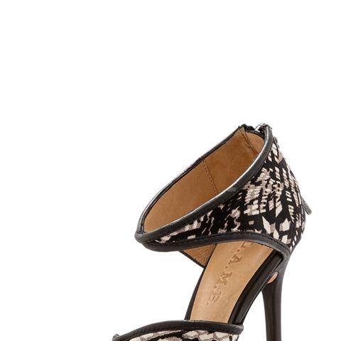 Waren Print Haircalf Sandals