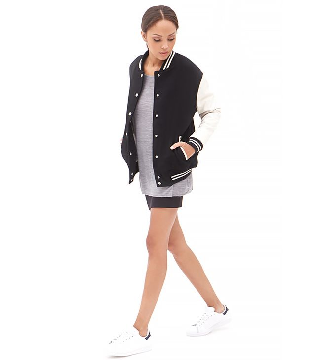 Forever 21 Classic Varsity Jacket