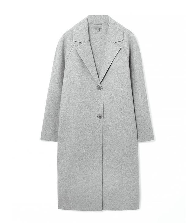 COS Clean-Edge Wool Coat
