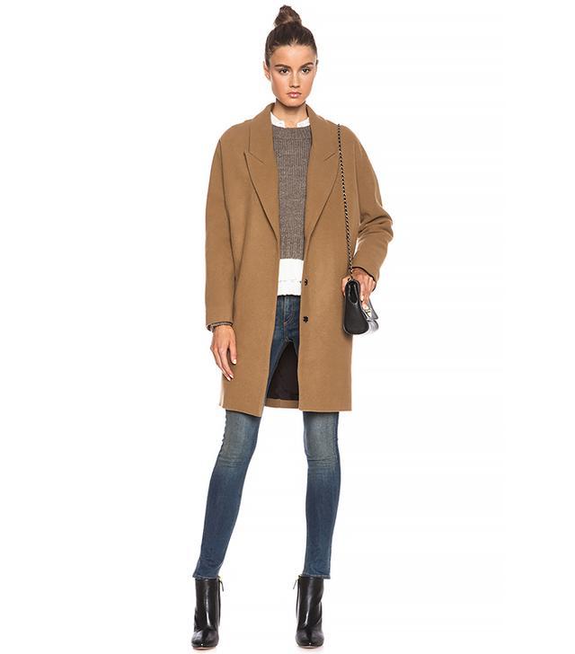 Nicholas Wool Cocoon Coat