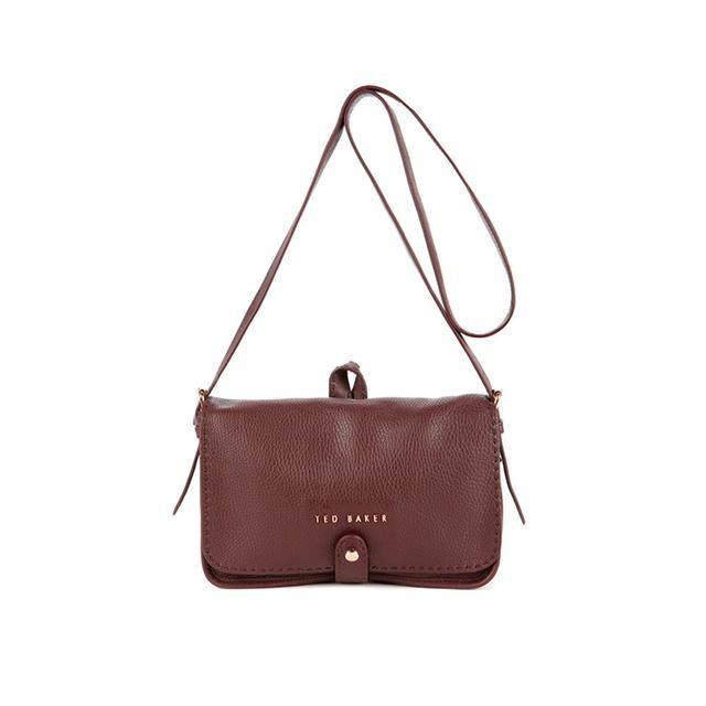 Ted Baker Markun Leather Stab Stitch Bag