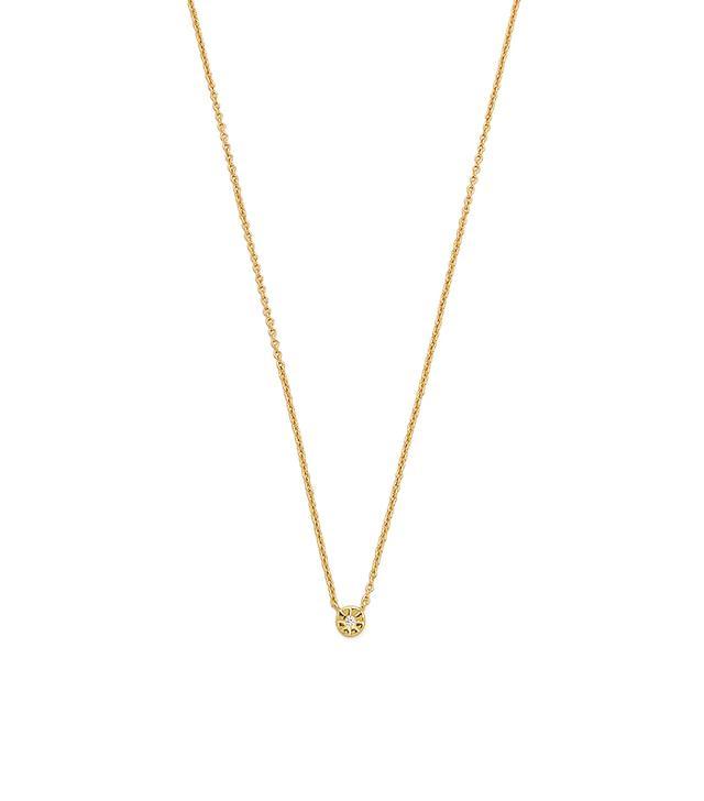 Gorjana Aura Tiny Shimmer Necklace