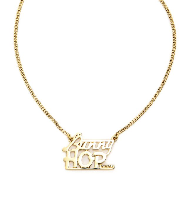 Marc by Marc Jacobs Bunny Hop Nameplate Necklace