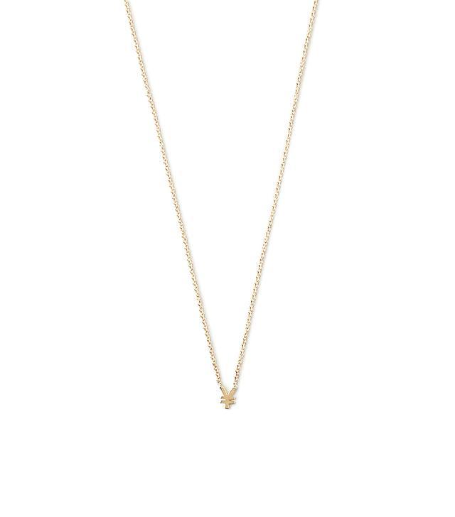 Winden Jewelry Yen Money Necklace