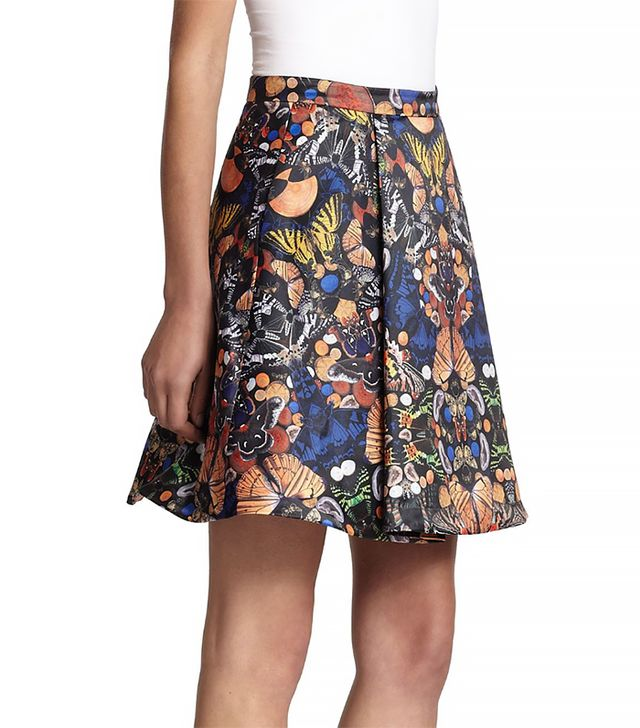 Alice + Olivia Nyla Pleated Skirt