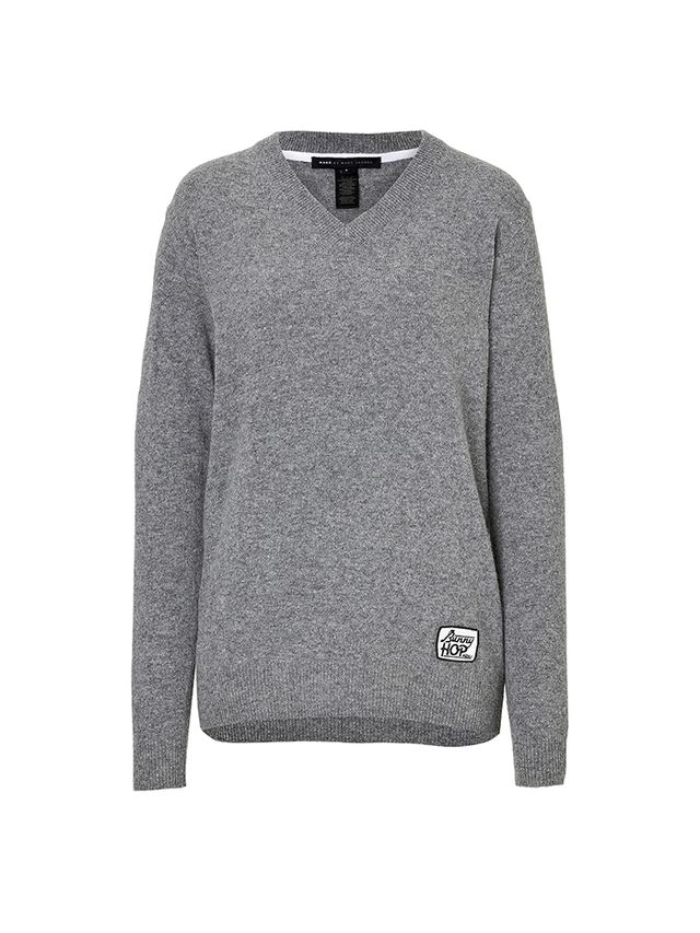 Marc by Marc Jacobs Merino Wool, Cashmere, and Angora V-Neck Pullover