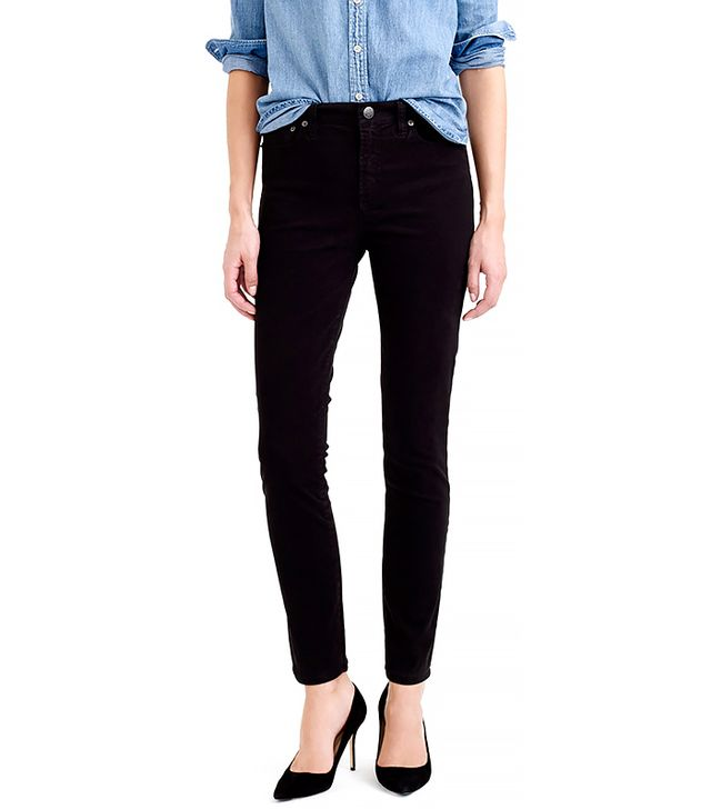 J. Crew High Rise Sateen Pant