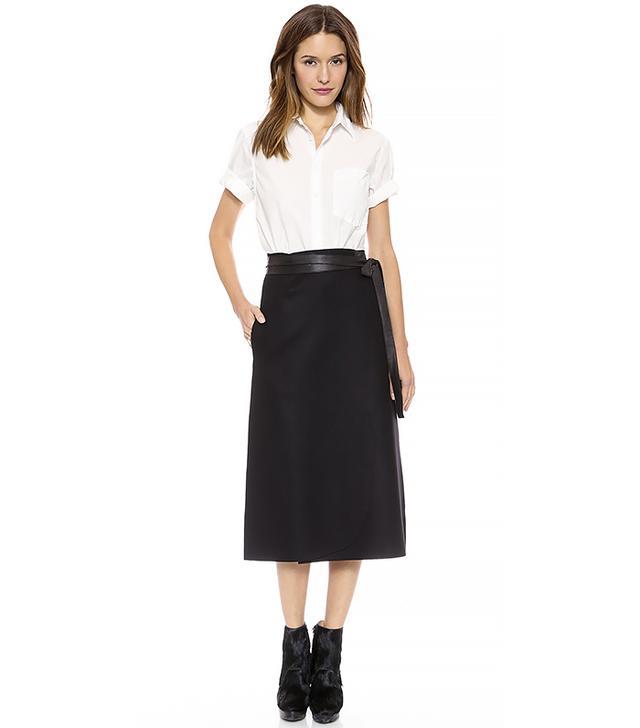 Jill Stuart Ella Tie Waist Skirt