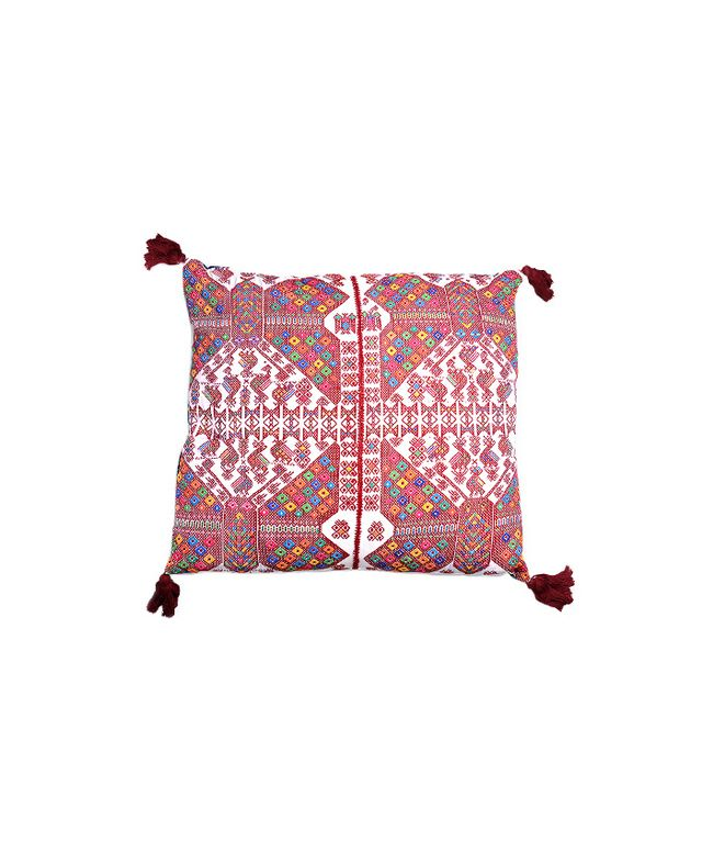 Furbish Studio Cantel Embroidered Pillow