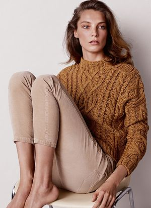 Daria Werbowy Stars In Mango's Winter 2014 Lookbook
