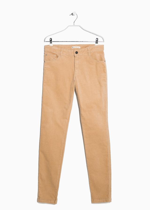 Mango Slim-fit corduroy trousers