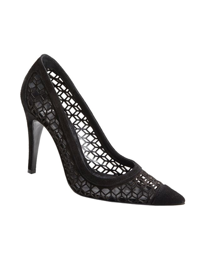 Pierre Hardy Cube Cutout Point-Toe Pumps