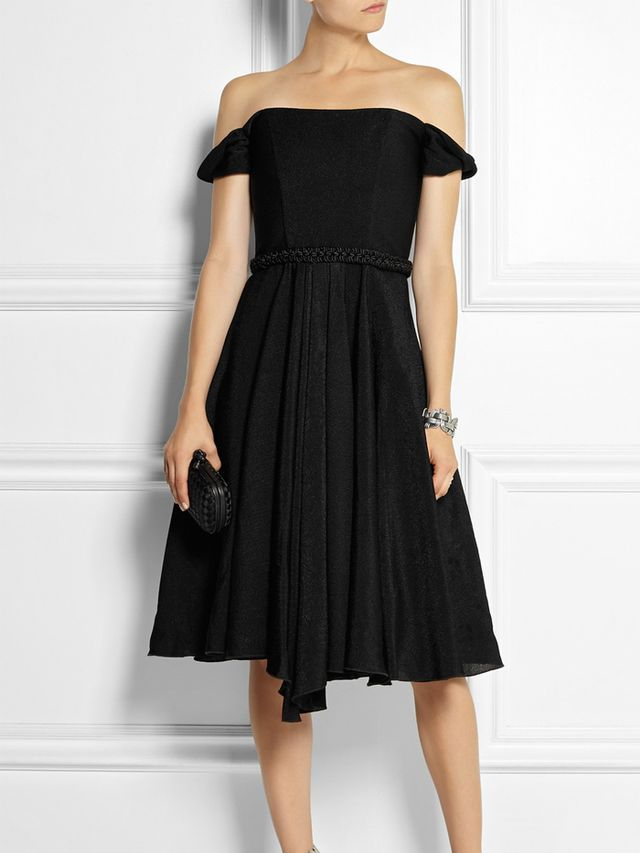 Topshop Unique Woven Satin Dress