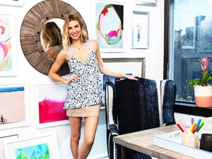 An Inside Look at Whitney Port's Chic New Office