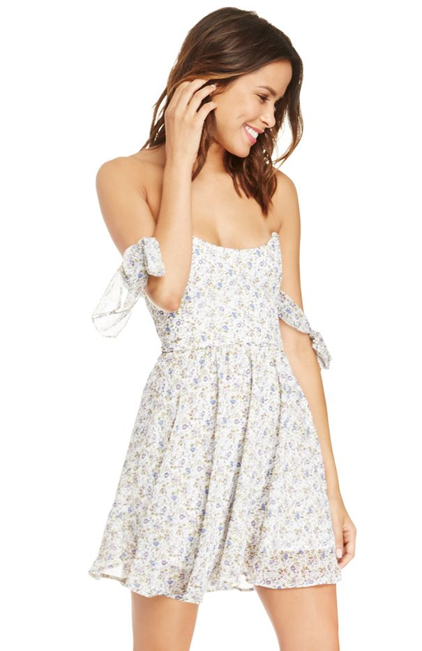 For Love & Lemons Floral Kiss Me Dress