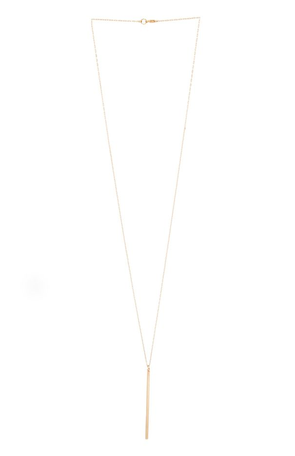 DailyLook Single Bar Necklace
