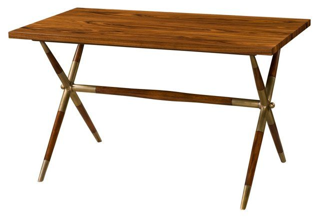 Keno Brothers for Theodore Alexander The Double-X II Desk