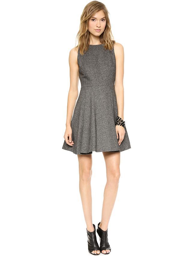 Alice + Olivia Jorah Pleated Dress