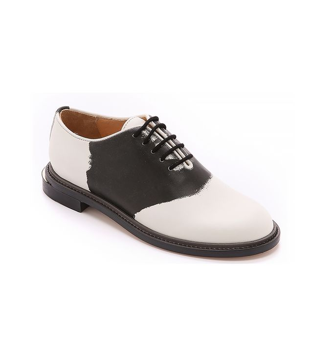 Band of Outsiders Tromp l'Oeil Saddle Shoes
