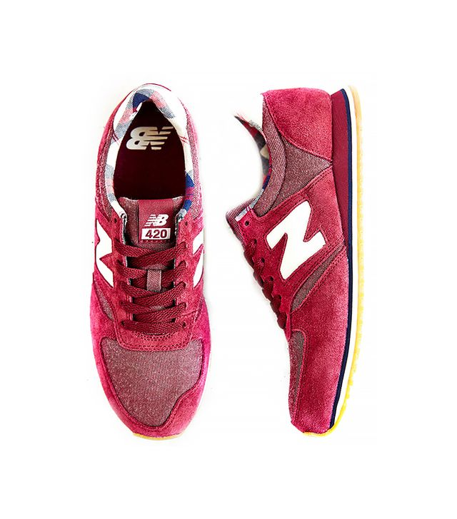 New Balance 420 Classic Running Sneakers