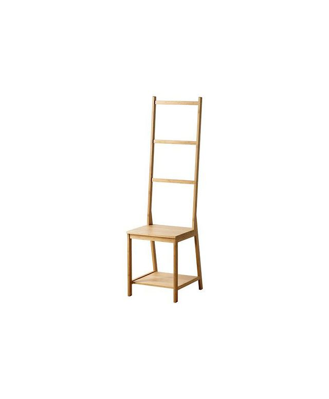 IKEA RÅGRUND Chair with Towel Rack