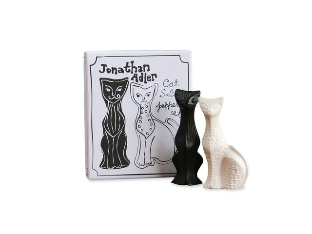 Jonathan Adler Cat Salt and Pepper Shakers