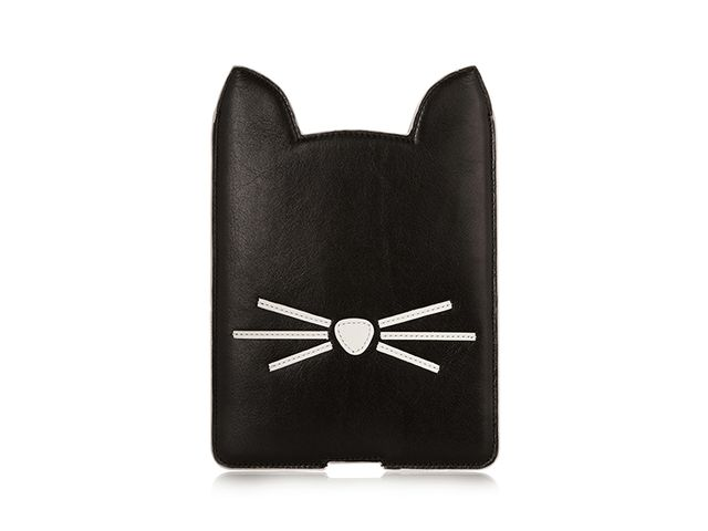 Karl Lagerfeld Choupette Leather iPad Mini Case