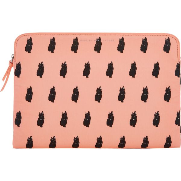 "Marc by Marc Jacobs Cat-Print 13"" Computer Case"