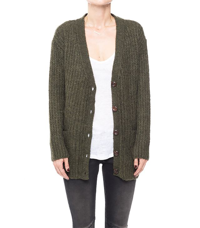 Anine Bing Loose Fit Knitted Cardigan