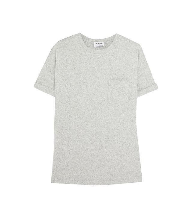 FRAME Denim Le Boyfriend Supima Cotton-Jersey T-Shirt