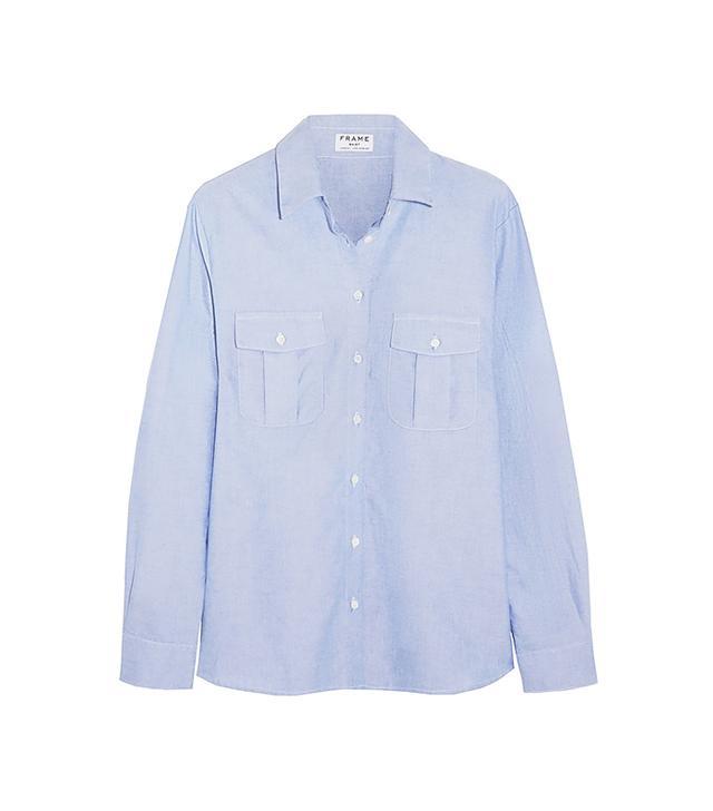 FRAME Denim Le Boyfriend Cotton Shirt