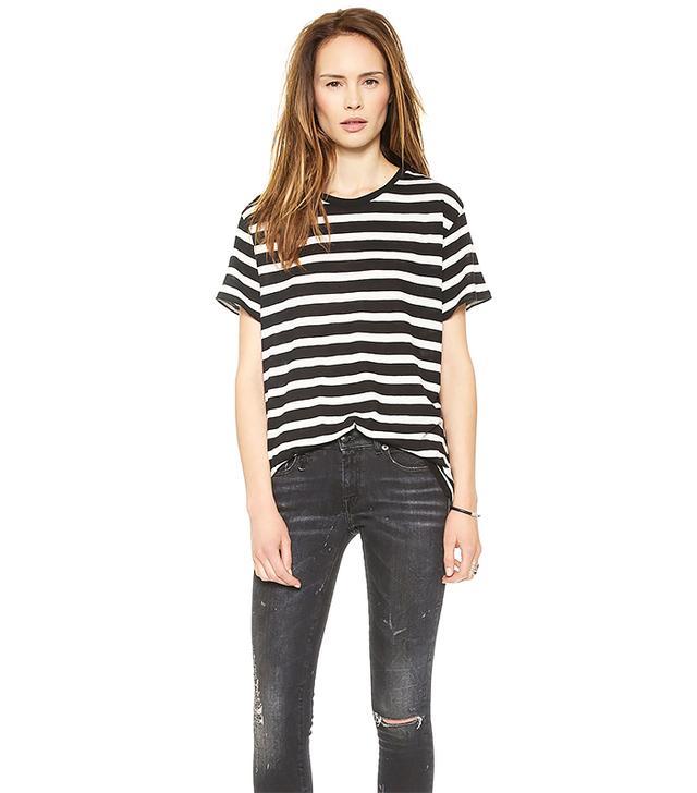 R13 Boy Striped T-Shirt
