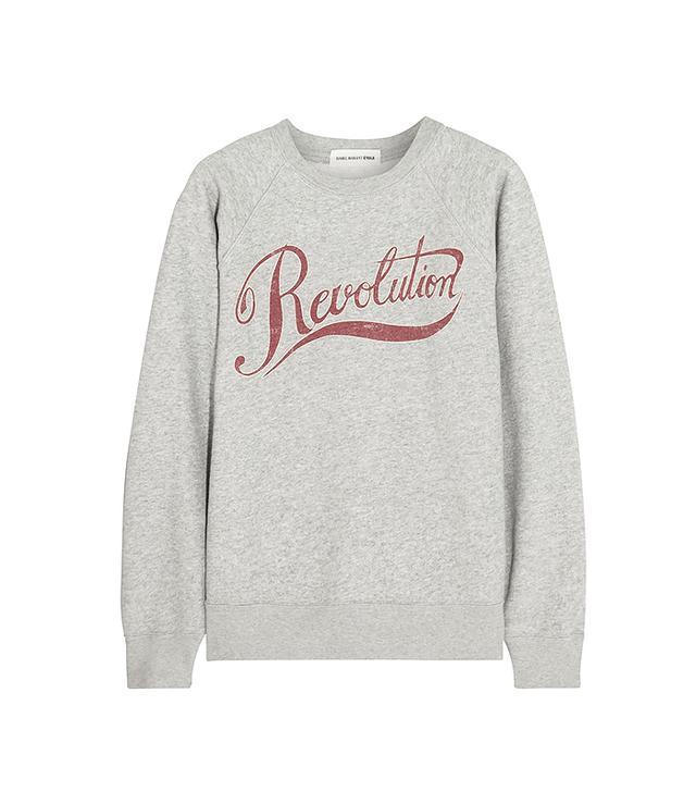 Étoile Isabel Marant Revolution Printed Cotton-Blend Sweatshirt