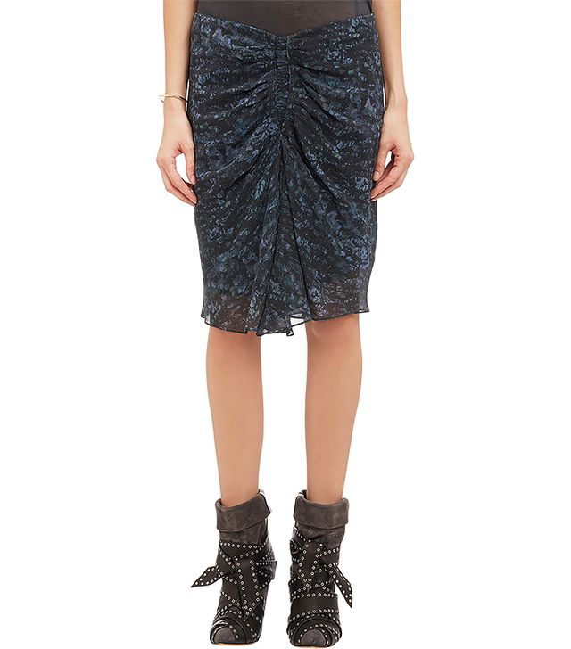 Isabel Marant Ruched Canelli Skirt