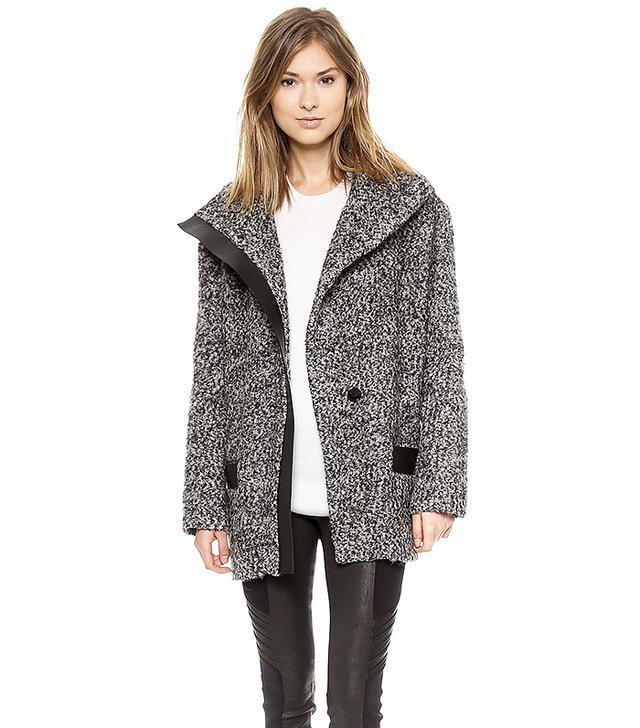 Iro Clayton High Neck Coat