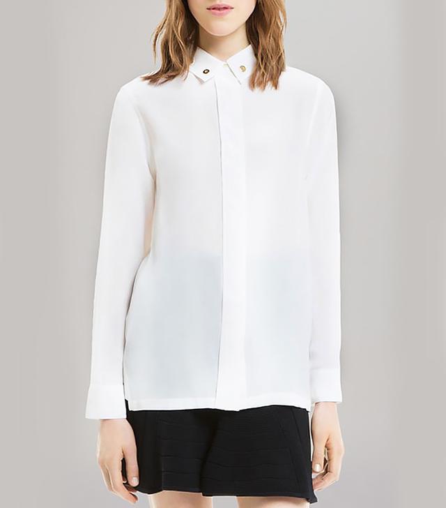 Sandro Cindy Silk Shirt