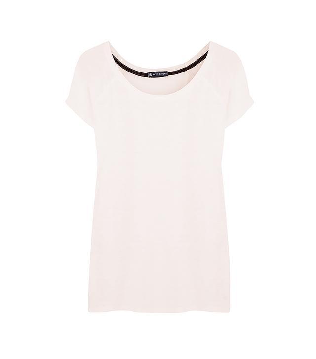 Petite Bateau Slub Linen-Jersey T-Shirt