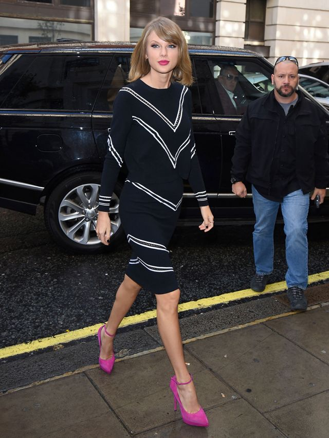 Taylor Swift in Tanya Taylor