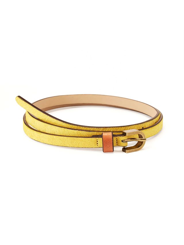 LOFT Haircalf Skinny Belt
