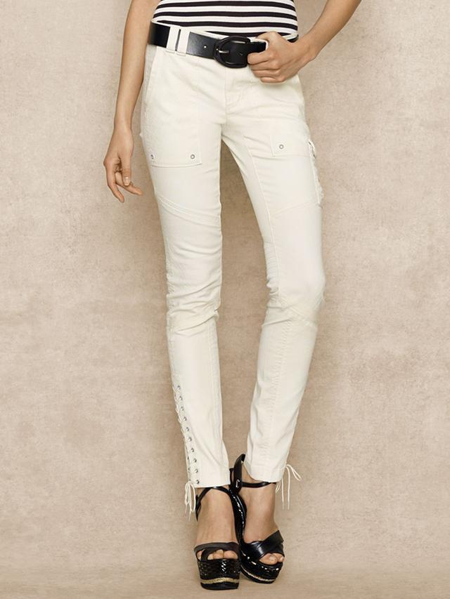 Ralph Lauren Woven Stretch Cotton Pants