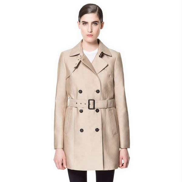 Zara Belted Trench Coat