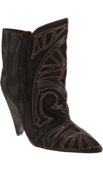 Isabel Marant  Embroidered Ankle Boots